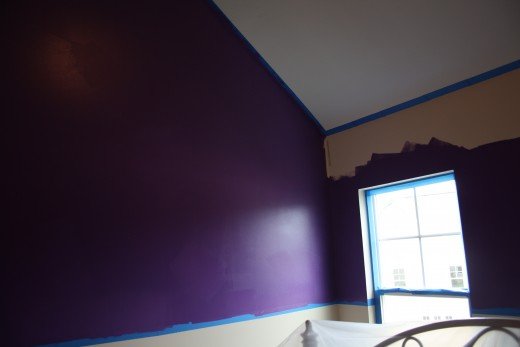 Painting A Girls Bedroom In Light Purple And Dark Purple