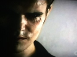 Klaus compels Stefan to turn off his humanity.