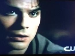 Damon promises never to leave Elena again.