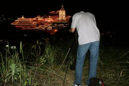 To successfully shoot fireworks you need a tripod and cable release to minimize camera shake.