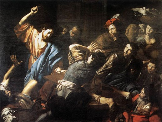 Painting by Valentin de Boulogne
