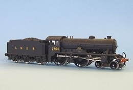 Modified (Hornby again) D49/2 'Hunt' utilised Comet detailing kit, 2764 'The Garth' in late LNER livery. since re-liveried with the 'cycling lion', and like 62721 above fitted with brass vacuum pipes and screw couplings