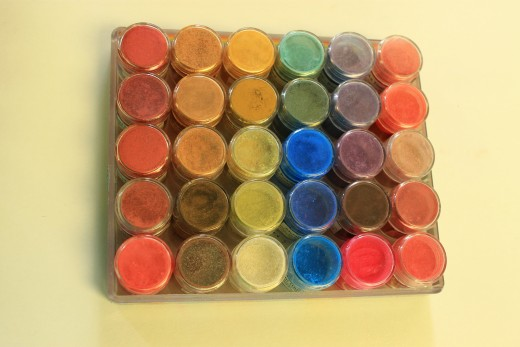 My second Rainbow Pigment Palette