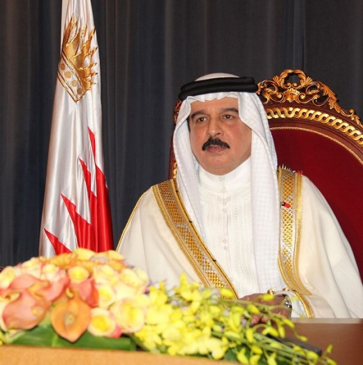 HH King Hamad bin Isa Al Khalifa - King of Bahrain