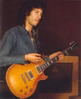 Peter Green with his 1959 Gibson Les Paul