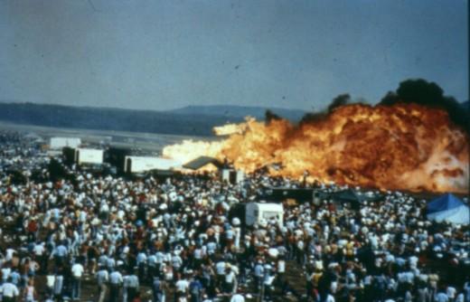 Ramstein Airshow Crash