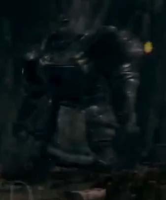 Dark Souls Defeating the Iron Golem