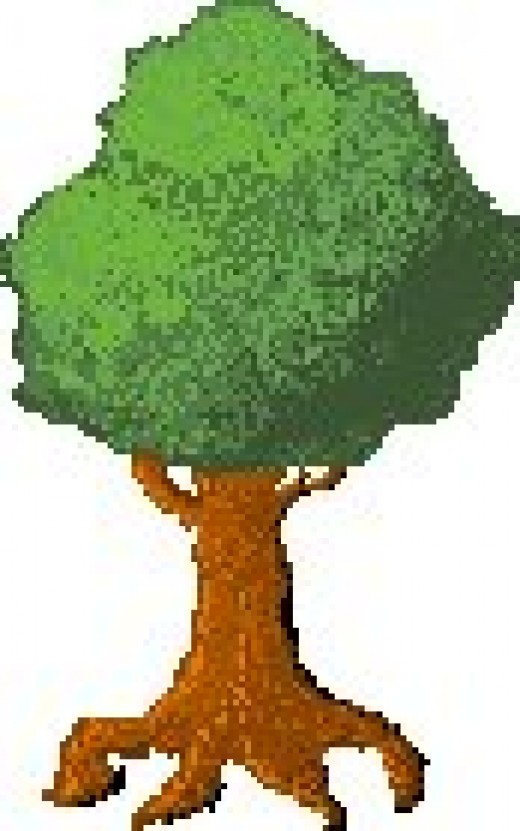 This tree is the first good thing I made using pixeling art, it's a nice little tree ^_^