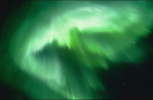 Green Corona Aurora