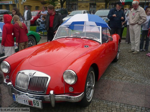 Classic MGA like my friends. Has a Wooden Floor!