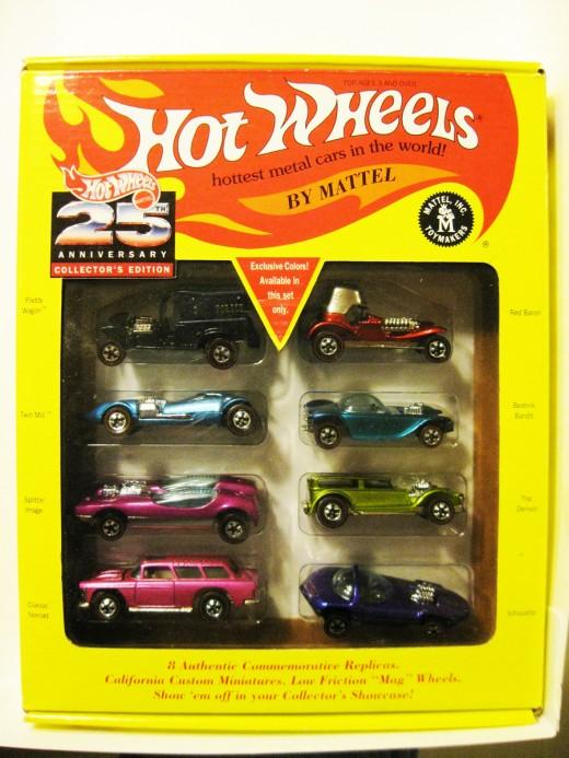 Hot Wheels 25th Anniversary Set