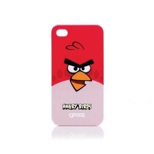 Red Bird Angry Birds iPhone 4 case