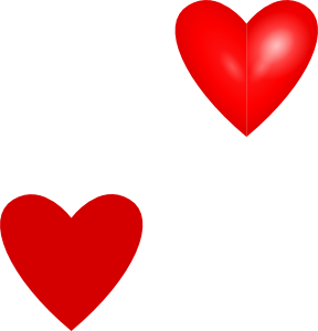 Red Hearts beating together