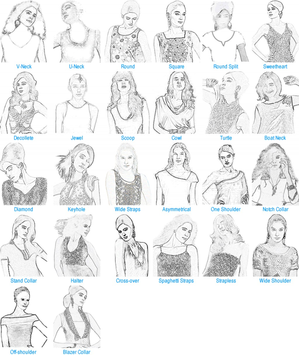 Most Flattering Appropriate Neckline Types For Oval Round And Square Faces (for Women) | Hubpages