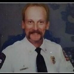 Author as Ass't Chief Boyd Fire Dept., 1992