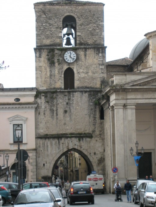 The original gate to the city of Isernia built three centuries before Christ was born.