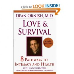 Ornish demonstrates that personal intimacy and other aspects of emotional well-being are as important to our physical condition as to our mental health....they also have a powerful direct effect on our bodies, giving us stronger immune systems, bette