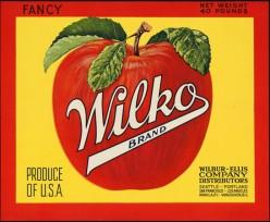 free cross stitch chart Wilko Apples