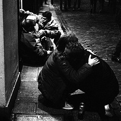 Homeless Love and Care from Anthony Cronin Source: flickr.com