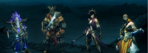 Blizzard Games' Diablo 3 character classes
