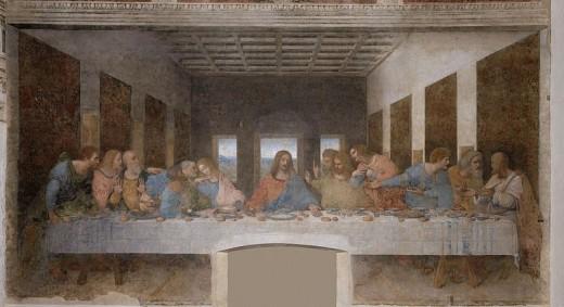 "Leonardo DaVinci's ""The Last Supper"""