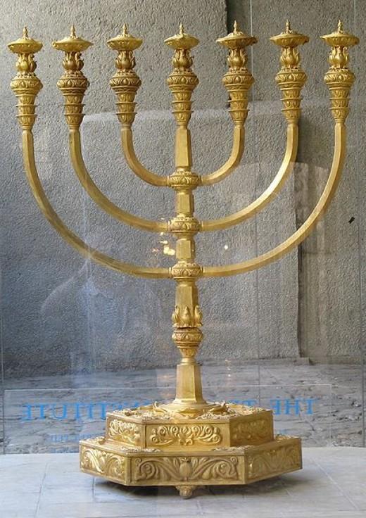 A menorah