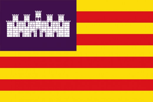 The Flag of the Balearic Islands