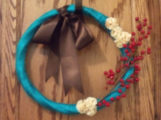 Purchase this beautiful wreath, on sale now.