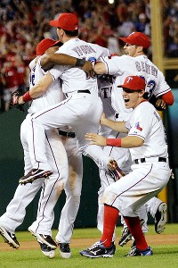 Texas Rangers are the American League Champions