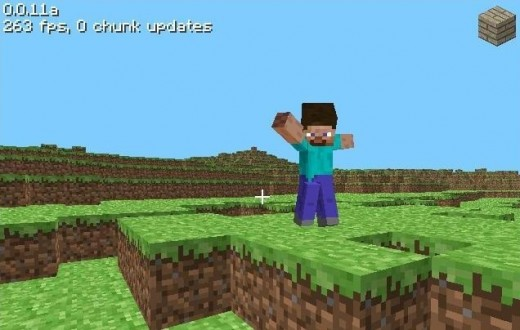 Yay! Steve and Minecraft Alpha