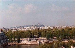 From my window: The Tuilleries gardens, the Opera Garnier, Mont Martre with Sacre Coeur Cathedral