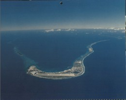 Kwajalein Island is the southernmost island in a string of islands that make up the Kwajalein Atoll located within the Marshall Islands