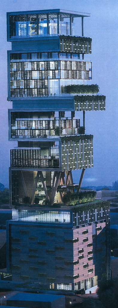 Worlds Most Expensive House (Ambani House)