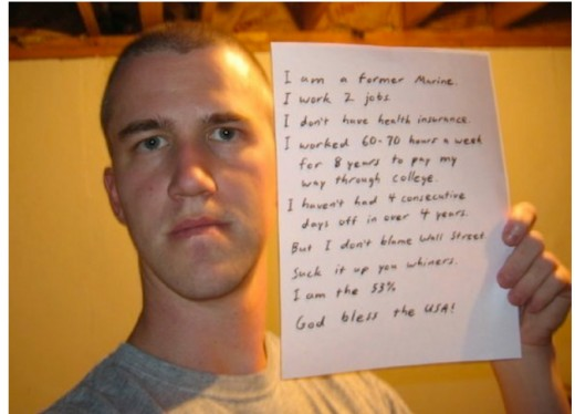 Exmarine protests the whiners. Bend over and take it!