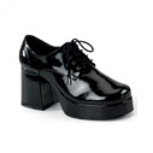 Remember when short guys wore these shoes that are called Platform Shoes, to give them extra height when talking to girls.