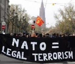 END NATO TERRORISM IN LIBYA!!
