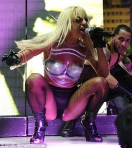 Lady Gaga has performed for President Clinton.