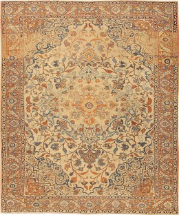 Antique Tabriz rug #41890