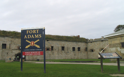 Fort Adams, Rhode Island.