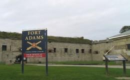 Fort Adams, Rhode Island.