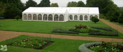 Marquee In The Grounds