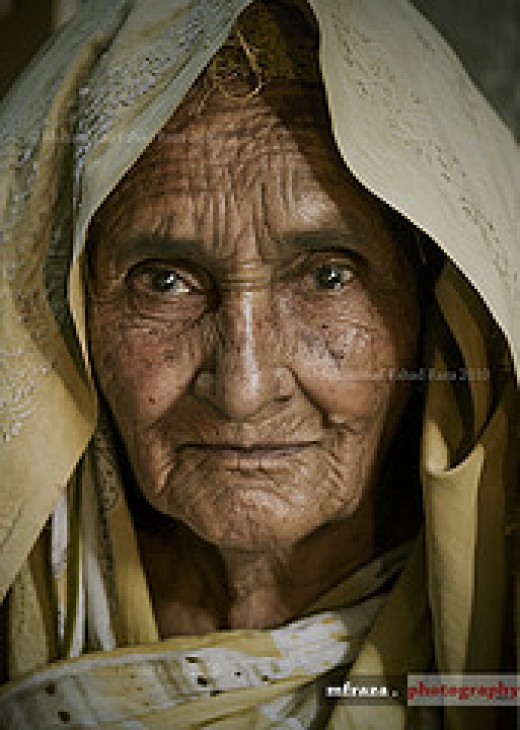 Age wrinkles the body. Quitting wrinkles the soul From Muhammad Fahas Raza Source: flickr.com
