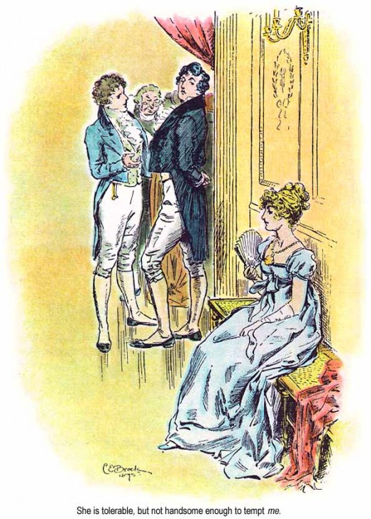Jane Austen's double tsundere couple!
