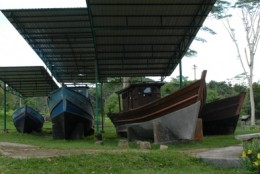 boats that were used by the refugees