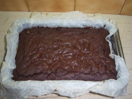 13. How your chocolate brownies will look when they are cooked.