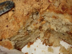Easy to Make Moist Banana Bread with Brown Sugar Graham Cracker Nut Crust