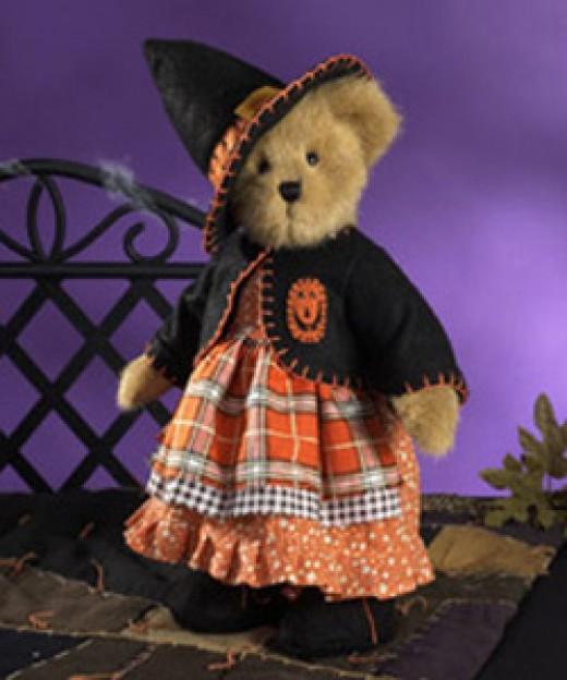 Boyd Bear Dressed for Halloween