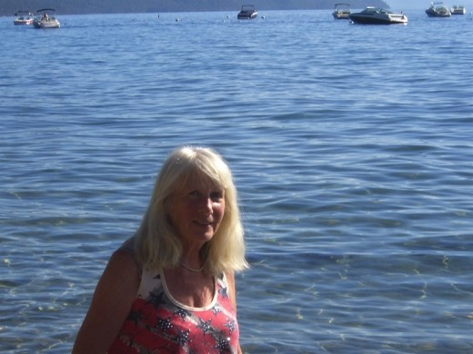 Me at Lake Tahoe where I mainly live with my Family.