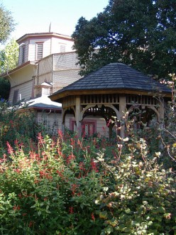 The Shinn Historical House has annual events likes teas and pumpkin fests. One of the most serene spots to sit is the gazebo towards the back side of the house.