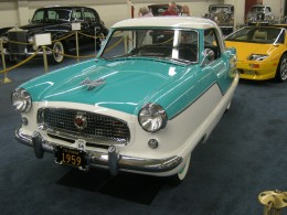 "A ""Nash"" ~ My husband thinks that his Aunt had one of these, they were ""cute"" cars preferred by women!"
